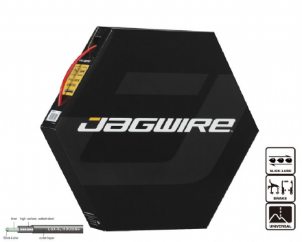 Jagwire Slick Lube Outer Brake Cable Housing - Various Colours - 30 Metre Bulk Box